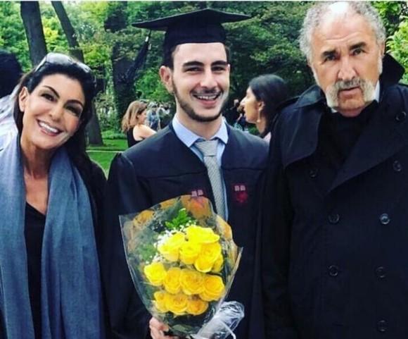 Ion Tiriac a fost zarit cu fosta iubita la absolvirea fiului lor