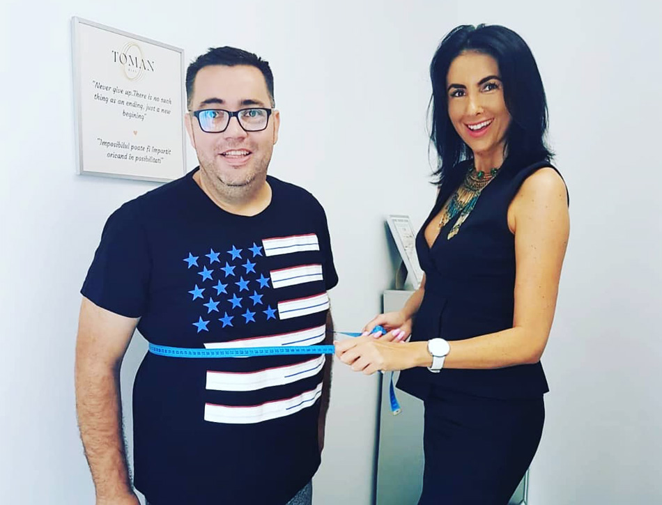 Razvan Popescu a slabit 50 de kilograme