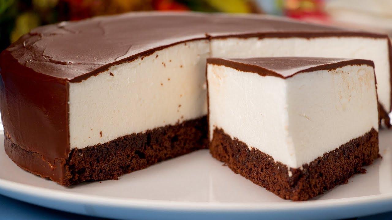 Reteta tort 'Lapte de pasare'. Se face usor si rapid, cu ingrediente ieftine! VIDEO