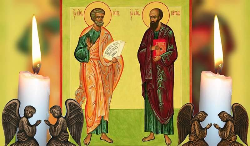 Rugaciune catre Sfintii Petru si Pavel. Cine o rosteste va avea bunastare tot anul!