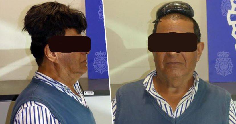 Barbat, arestat pe aeroport din cauza perucii sale! E ireal ce ascundea sub parul fals