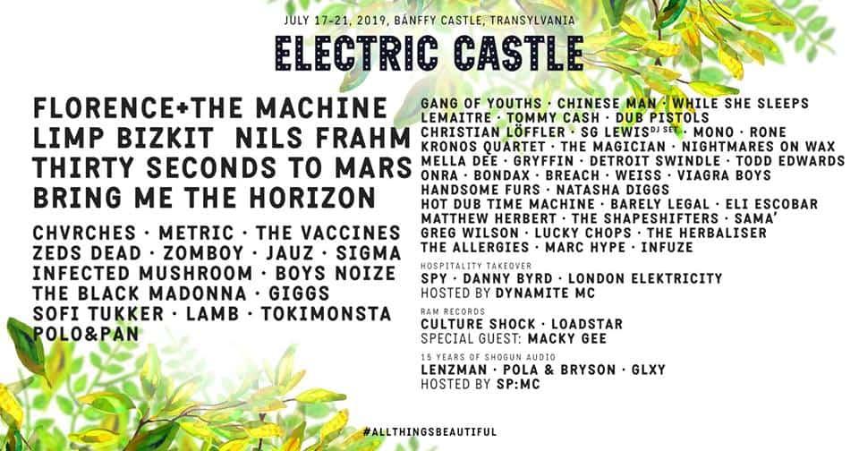 Bilete Electric Castle 2019
