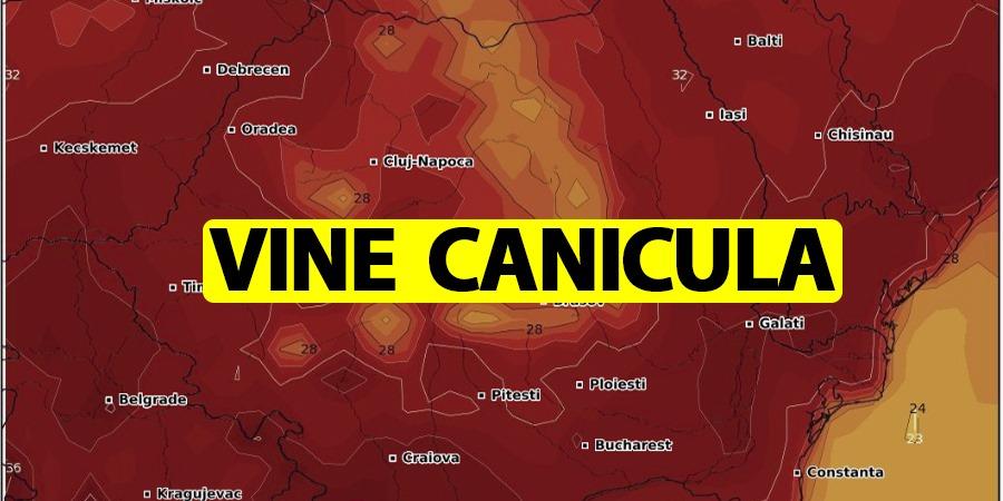 Canicula loveste Romania! Temperaturile, ALARMANT de ridicate. Cand scad temperaturile