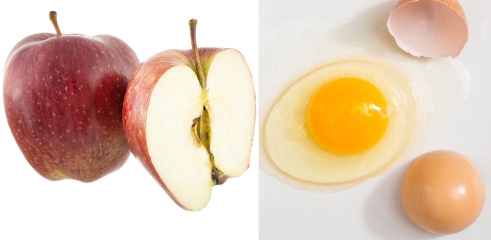 cura de slabire cu mere si oua)
