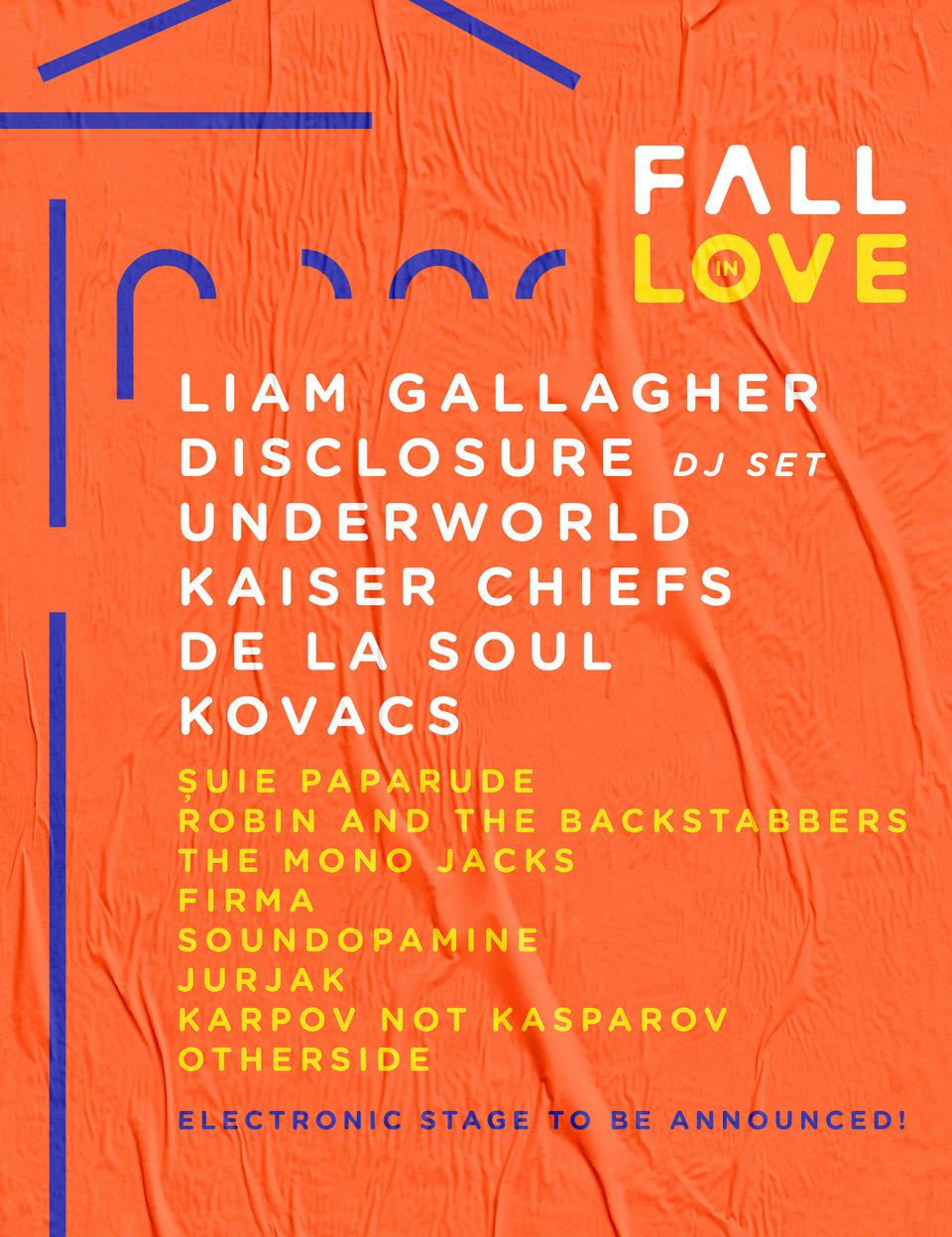 Fall in Love Festival îi readuce pe Underworld (UK) în România
