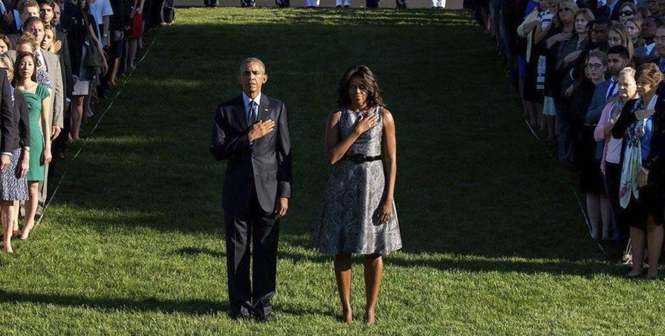 Michelle Obama, in lacrimi!