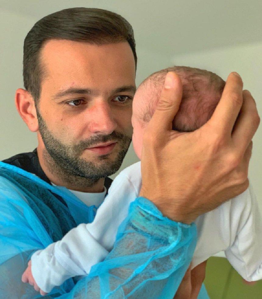 Mihai Morar a publicat prima poza cu fetita lui: