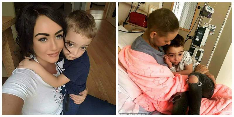 O mama bolnava de cancer trebuie sa-si anunte baietelul ca nu mai are mult de trait