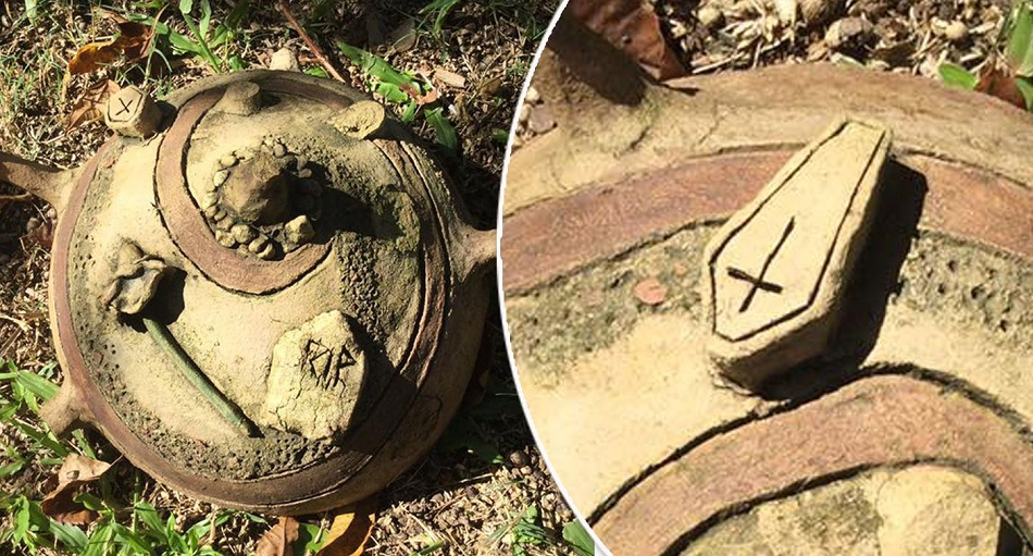 Obiectul blestemat gasit de o femeie, imediat ce s-a mutat in casa noua
