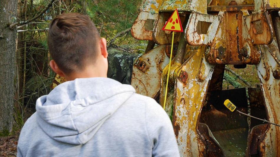 Obiectul letal de la Cernobil!