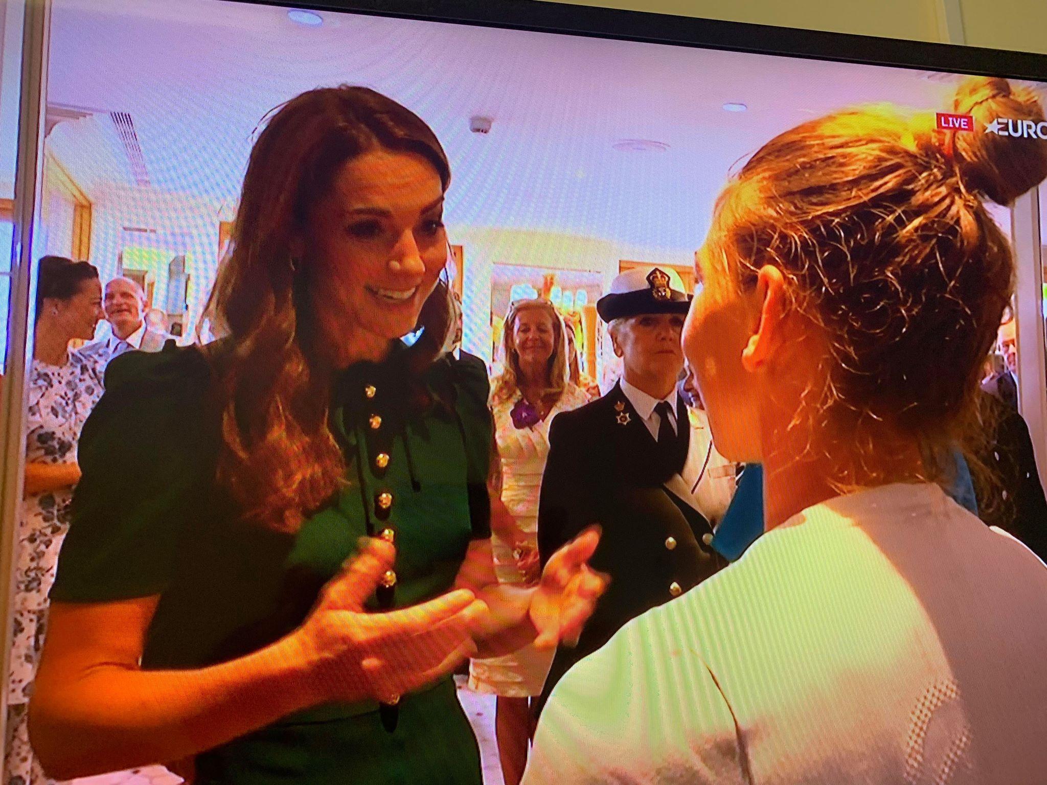 Simona Halep, regina Wimbledonului, aclamata de Ducesa Kate