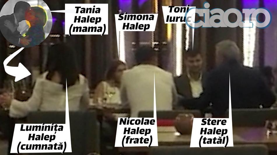 Simona Halep si milionarul Toni Iuruc si-au oficializat relatia