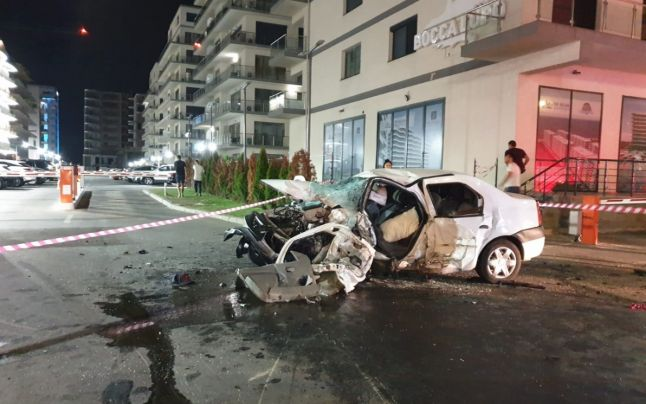 Accident mortal in Mamaia