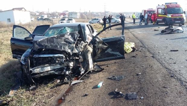 Accident rutier extrem de grav in Galati