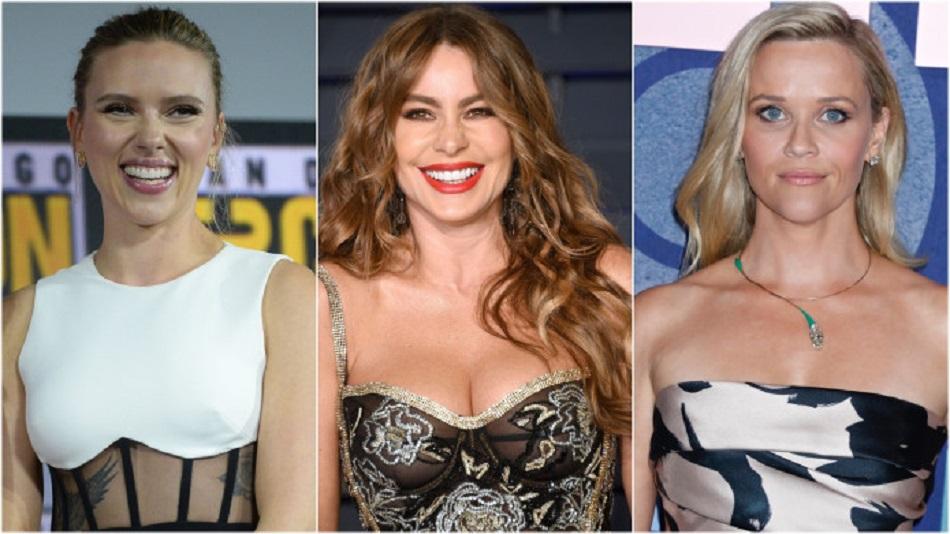 Cele mai bine platite actrite de la Hollywood, in 2019