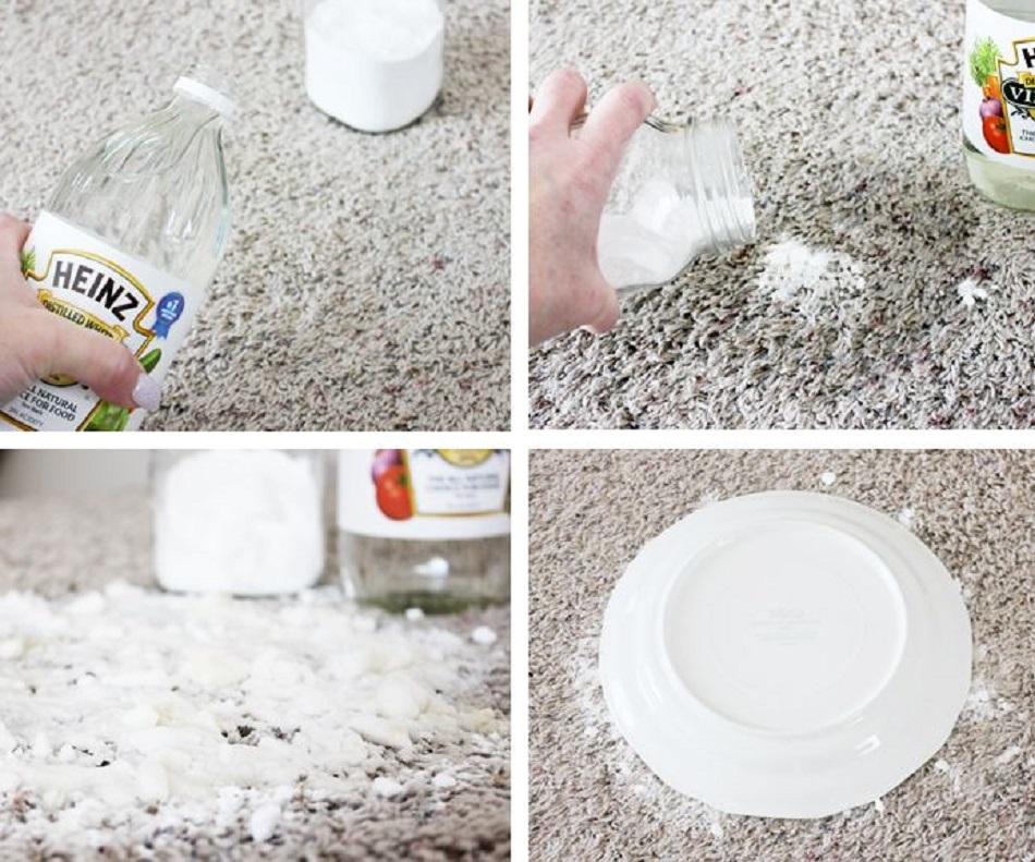 Cum cureti covoare cu bicarbonat de sodiu