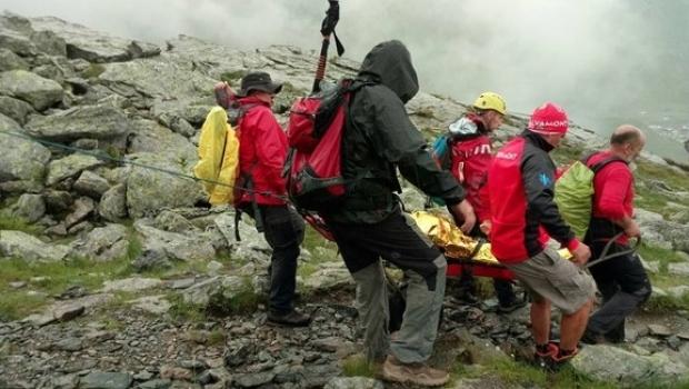 Doi turiști americani, blocați în Munții Bucegi