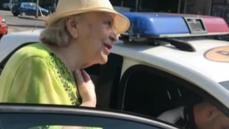 O femeie de 81 de ani, amendata de politisti