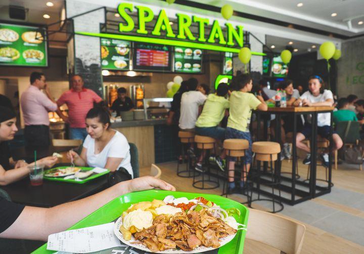 """Spartan, """"spectacolul gustului legendar"""""""