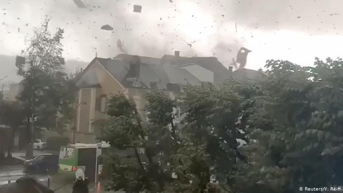 Tornada extrem de puternica in Luxemburg