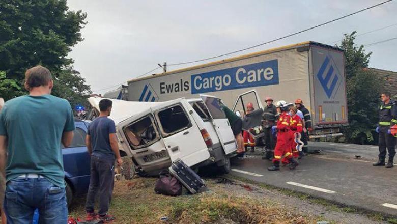 Accident rutier grav în Ilfov