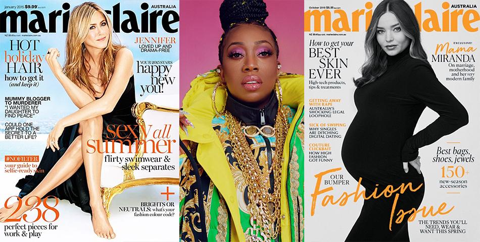Ediția britanică a revistei Marie Clair
