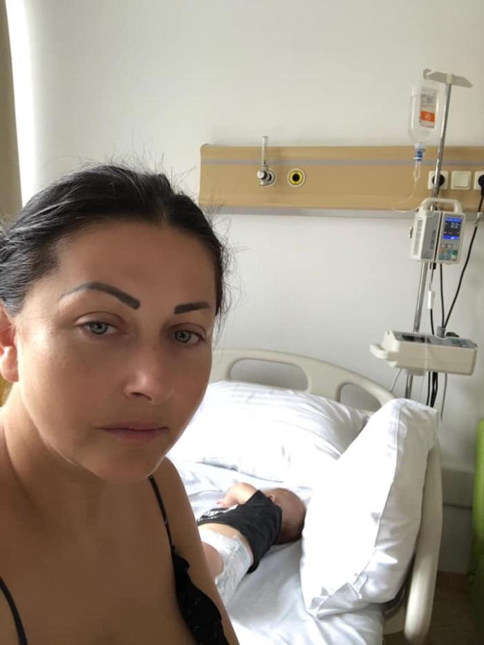 Gabriela Cristea internată de urgență cu Iris
