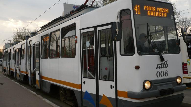 Tramvaiul 41, suspendat