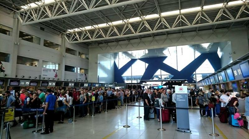 Un barbat a fost arestat in aeroport