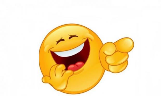 Emoticon râzând- Bancuri cu nebuni