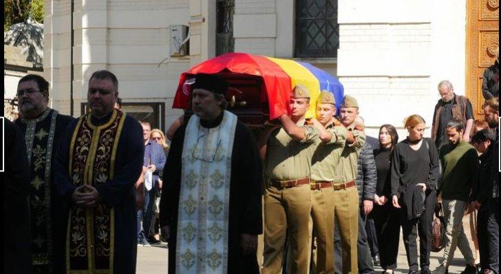Alexandru Darie a fost înmormântat