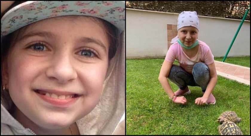 Fetița s-a vindecat de leucemie
