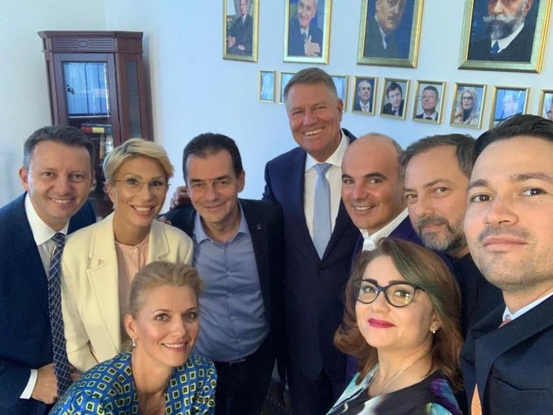 Preşedintele Klaus Iohannis a avut o întâlnire cu liderii PNL