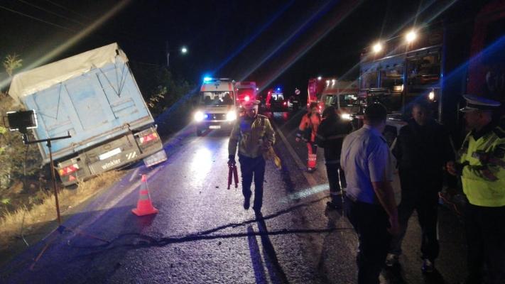 Accident soldat cu 10 morti