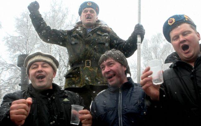 Consumul de alcool a scăzut în Rusia