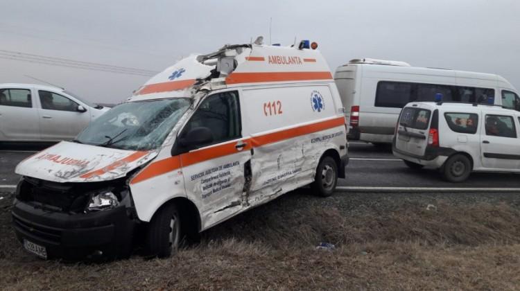 Grav accident în Vaslui