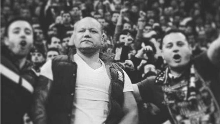 Mihai Stoica, in lacrimi