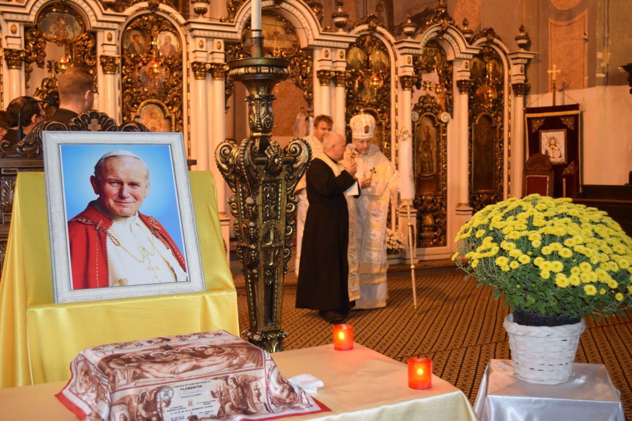 Moaștele Papei Ioan Paul al II-lea