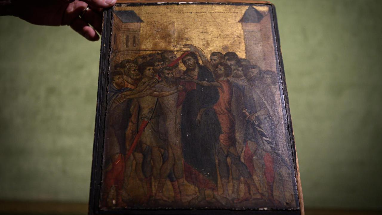 Pictura renascentistă găsită într-o bucătărie