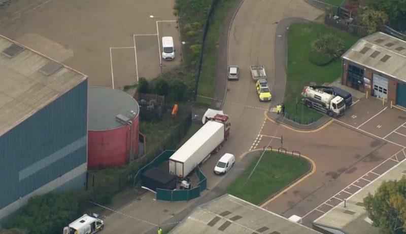 Poliția britanică a descoperit 39 de cadavre