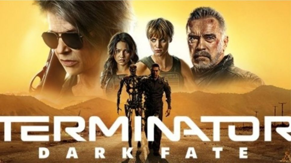Filme noi 28 octombrie-3 noiembrie 2019. Foto poster ofical film Terminator