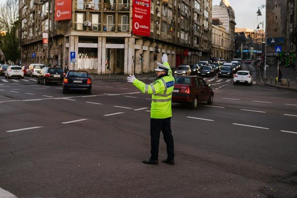 Restrictii de trafic in Bucuresti