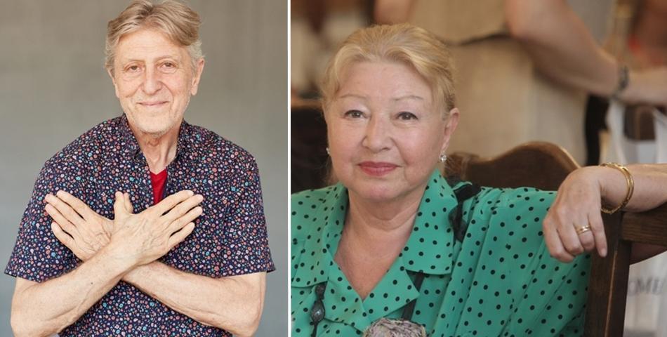 Actrița Rodica Popescu Bitănescu și regizorul Andrei Șerban