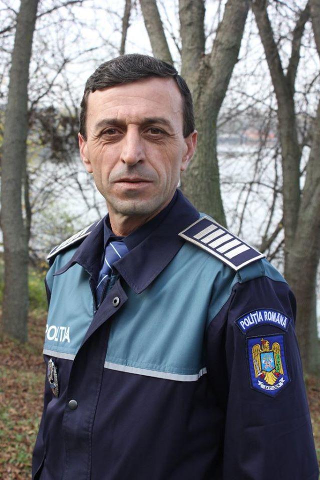 Gest șocant al unui polițist român