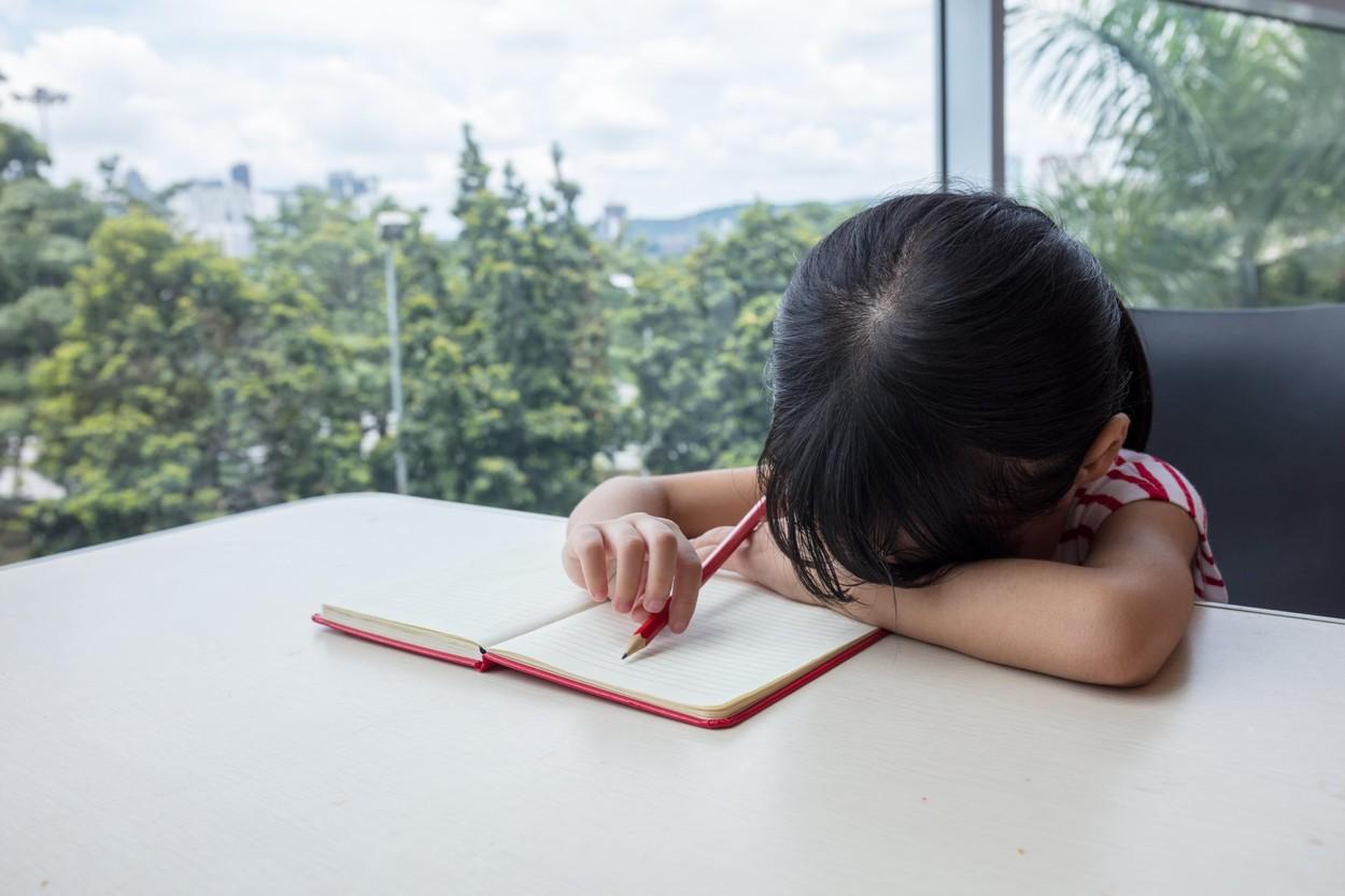 O fetiță i-a scris o scrisoare tatălui ei mort