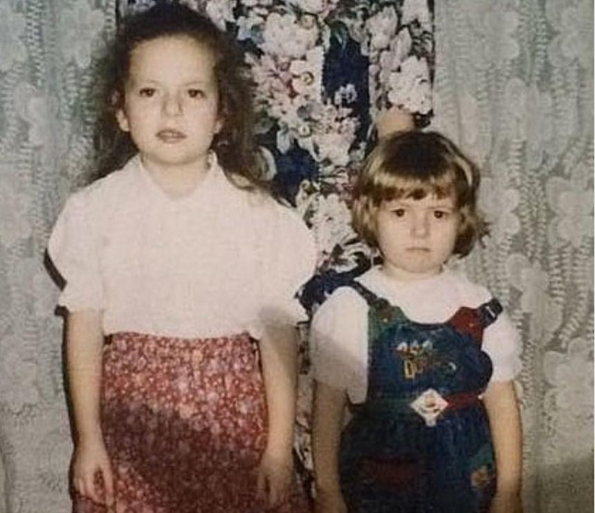 Poză inedită cu Lidia Buble din copilărie