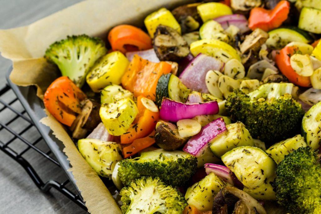 Mâncăruri de post, legume la cuptor