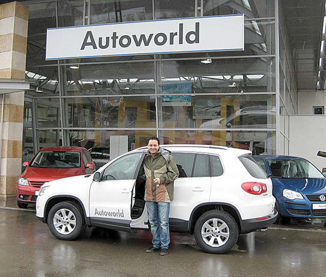 În 2014 conducea un Audi Q5 (50.000 de euro)