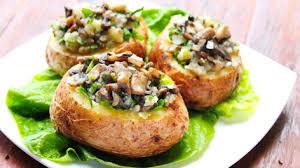 cartofi ciuperci